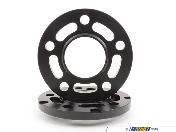 T#304138 - TWHF9905F13BLACK - BLACK12.5MM 5/120 BIG PAD TMS SPACER (PAIR) WITH 156MM OD FITS ALL 5 LUG BMWS EXCEPT E39 - requires longer bolts **SR** - Turner Motorsport -