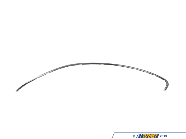 T#117076 - 51717008585 - Genuine BMW Roof Frame Strip, Left Glanzschwarz - 51717008585 - E63 - Genuine BMW -