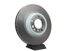 T#61791 - 34116757758 - Genuine BMW Brake Disc, Ventilated 348X32 - 34116757758 - E38 - Genuine BMW -