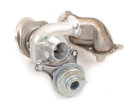 T#360325 - 11657649289KT - E82 135i N54, E9X 335i/xi N54, E60 535i/xi N54 OE BMW Front Turbocharger With Exhaust Manifold (Rebuilt) - Genuine BMW - BMW