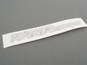 "Turner Motorsport Die-Cut Stickers - 1"" x 7"" (pair)"