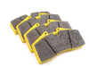 T#1731 - TMS1731 - StopTech Calipers ST40 ST45 - Race Brake Pad Set - Pagid RS29 Yellow - Yellow RS 29: Racing Revised endurance compound. This compound combines the outstanding wear rate of the RS19 with a slightly higher coefficient of friction and initial bite. Due to its outstanding wear rate and driveability, Pagid endurance materials are often used at sprint races as well.This pad set fits the following StopTech 4-piston calipers:ST40 / ST45ST40 calipers are found in many StopTech Big Brake Kits, including these BMW models:2008-2012  E82 BMW 128i 135i 1M Coupe1992-1998  E36 BMW 318i 318is 318ti 318ic 323is 323ic 325i 325is 325ic 328i 328is 328ic M31999-2005  E46 BMW 323i 323ci 325i 325ci 325xi 328i 328ci 330i 330ci 330xi M32006-2011  E90 BMW 325i 325xi 328i 328xi 328i xDrive 330i 330xi 335d 335i 335xi 335i xDrive M3 - Sedan2006-2012  E91 BMW 325xi 328i 328xi 328i xDrive - Wagon2007-2013  E92 BMW 328i 328xi 328i xDrive 335i 335is 335xi 335i xDrive M3 - Coupe2007-2013  E93 BMW 328i 335i M3 - Convertible2012+ F30 BMW 328i 335i - Sedan1989-1995  E34 BMW 525i 530i 535i 540i M51997-2003  E39 BMW 525i 528i 530i 540i M52004-2010  E60 BMW 525i 525xi 530i 530xi 528i 528xi 528i xDrive 535i 535xi 535i xDrive 545i 550i M52010+  F07 BMW 535i GT, 535i xDrive GT, 550i GT, 550i xDrive GT2011+  F10 BMW 528i 535i 535i xDrive 550i 550i xDrive M52004-2011  E63 BMW 645ci 650i M62012+  F13 BMW 640i 650i1988-1994  E32 BMW 735i 735il 740i 740il 750il1995-2001  E38 BMW 740i 740il 750il2002-2008  E65 BMW 745i 745li 750i 750li 760i 760li2009+ F01 BMW 740i 740li 750i 750li 750i xDrive 750li xDrive 760li1990-1999  E31 BMW 840i 840ci 850i 850ci 850csi2004-2010  E83 BMW X3 2.5i X3 3.0i X3 3.0si2011+  F25 BMW X3 xDrive28i X3 xDrive35i2000-2006  E53 BMW X5 3.0i X5 4.4i X5 4.6is X5 4.8is2007-2013  E70 BMW X5 3.0si X5 4.8i X5 xDrive30i X5 xDrive35d X5 xDrive35i X5 xDrive48i X5M2008+  E71 BMW X6 xDrive35i X6 xDrive50i X6M1997-2002  Z3 BMW Z3 1.9 Z3 2.3 Z3 2.5i Z3 2.8 Z3 3.0i M Roadster M Coupe2003-2008  E85 BMW Z4 2.5i Z4 3.0i Z4 3.0si Z4 M Roadster M Coupe2009+  Z4 BMW Z4 sDrive30i Z4 sDrive35i Z4 sDrive35is - Pagid Racing - BMW