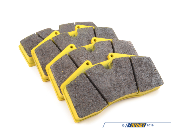 T#1731 - TMS1731 - StopTech Calipers ST40 ST45 - Race Brake Pad Set - Pagid RS29 Yellow - Pagid - BMW