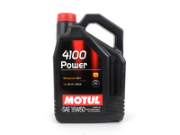 MOTUL 4100 15W-50 Synergie Engine Oil - 5 liter bottle