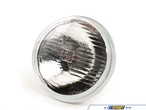 T#3952 - 71456 - E30/E24/E28 Hella 5 3/4 inch H4 Low Beam Headlight - Replace your factory sealed beam units with these brighter European headlights. Hella lights feature replaceable bulbs and can take up to a 100 watt H4 bulb. Sold Individually.This item fits the following BMWs:1977-1983  E21 BMW 320i 323i 1984-1987  E30 BMW 318i 318is 318ic 325e 325es 325i 325ic 325is 325ix6/1989-1991  E30 BMW 318i 318is 318ic 325i 325ic 325is 325ix M31976-1981  E12 BMW 528i 530i1982-1988  E28 BMW 524td 528e 533i 535i 535is M51982-6/1987  E24 BMW 633csi 635csi1987-1989  E24 BMW M61981-1987  E23 BMW 733i 735i - Hella - BMW