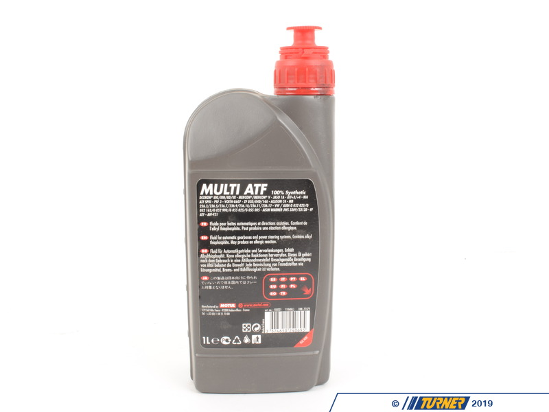 Used Bmw Z4 >> MOTUL-MULTI-ATF - MOTUL Multi ATF Automatic Transmission Fluid / Gearbox Oil - 1 Liter bottle ...
