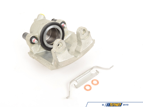 T#5748 - 34112282175C - Brake Caliper - Rebuilt - Front Left - E46 M3 2001-2006 - Our rebuilt calipers start off with an original BMW caliper that is fully disassembled thoroughly inspected and carefully processed.  All threads are chased, all groves are meticulously cleaned and checked.  Pistons are replaced if any dents or scratches are found.  All rubber components and hardware are replaced with new OE quality parts.   The units are then air pressure tested and submitted to a thorough final inspection.  **Please note these calipers do not have the ///M logo on them*** We also stock the Genuine BMW calipers with the ///M logo.This item fits the following BMWs:2001-2006  E46 BMW M3, M3 Convertible - Not for CSL BrakesIncludes $50.40 core charge to be refunded on return of your rebuildable core. - Cardone -