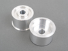 T#337 - TDR4680035 - Rear Differential Mounts - Turner Solid Aluminum - E46 M3 - Turner Motorsport -