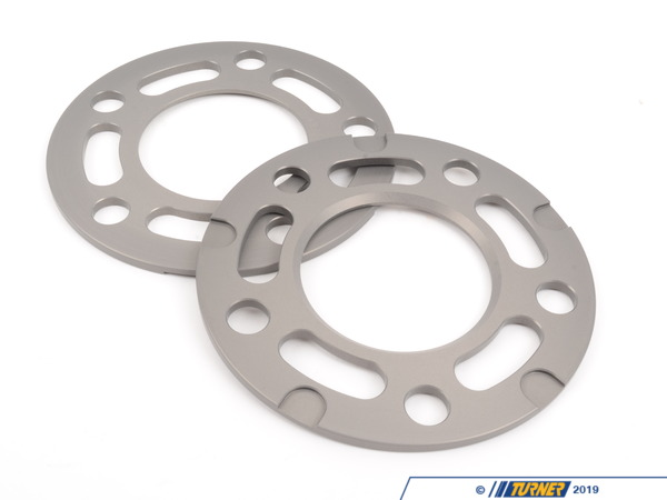 T#2023 - TWH9905005 - Turner BMW 5mm Wheel Spacers (Pair) - Most BMWs (see applications) - Turner Motorsport -