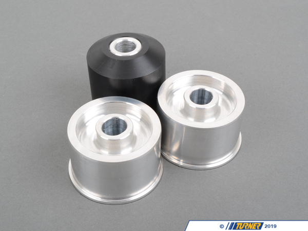 T#3786 - TDR3680001 - Rear Differential Mounts - Turner Solid - E36, E36 M3 - Turner Motorsport -