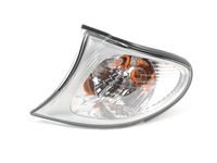 Clear Turn Signal - Titanium Trim - Left - E46 325i 325xi 330i 330xi 2002-2005
