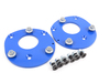 T#265 - TSU4680451 - Turner Motorsport Street/Track Front Fixed Camber Plates - E46 (not M3) - Turner Motorsport - BMW