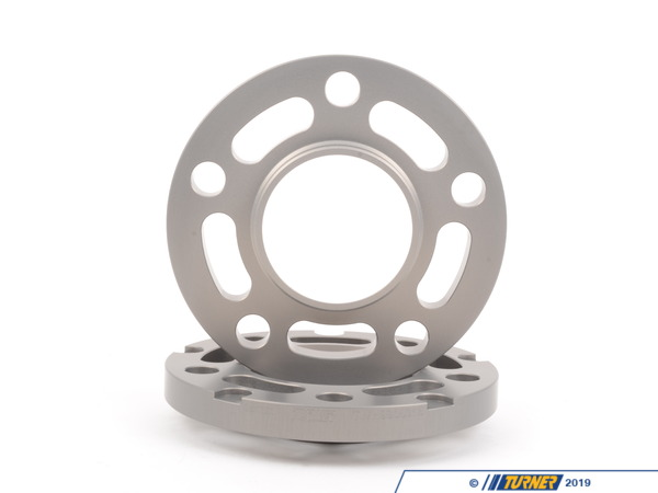 Turner Motorsport Turner Silver BMW 15mm Wheel Spacers (Pair) - Most BMWs (see applications) TWH9905015