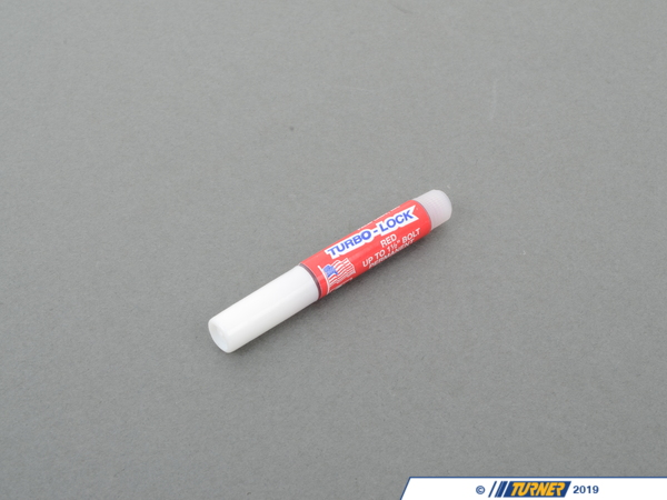 T#2015 - 13-001-OR - Turbo-Lock Red Threadlocker (2ml Tube) - Turner Motorsport - BMW MINI