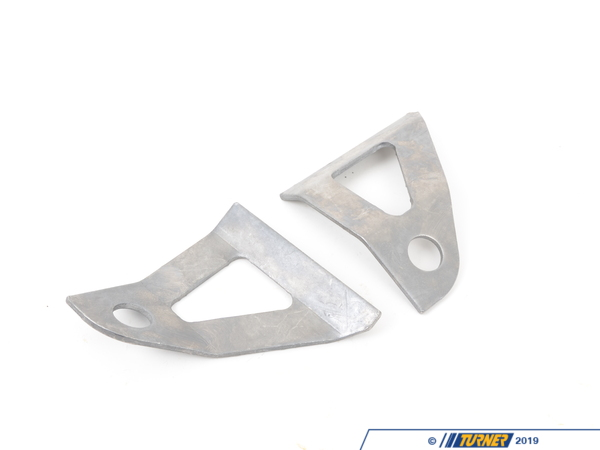 T#3644 - TSU3675001 - E36 Rear Sway Bar Reinforcement Kit - E36 cars with swaybar upgrades will develop cracks where the swaybar bushing mounts to the subframe. The problem becomes worse for cars that are tracked or drifted. Because the swaybar tab is un-reinforced from the factory, you can end up with flexing and twisting which will eventually weaken the welds and snap the tab from the subframe. By welding in this reinforcement you can prevent the mount from twisting. This will go a long way towards preventing a bothersome repair down the road.Click here for installation instructions.This item fits the following BMWs:1992-1998  E36 BMW 318i 318is 318ic 323is 323ic 325i 325is 325ic 328i 328is 328ic M3 - Turner Motorsport - BMW