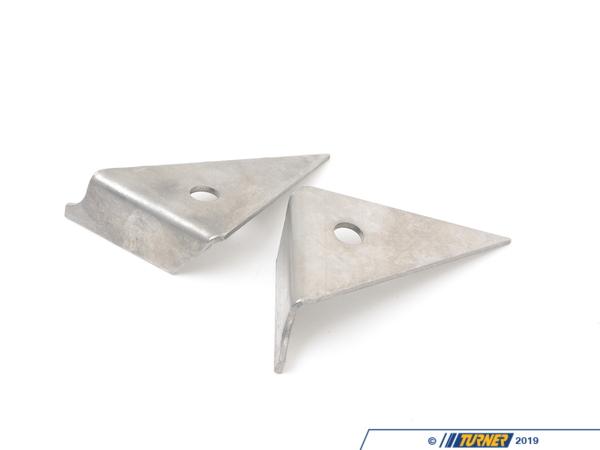 T#3775 - TSU3075305 - E30, Z3 Rear Sway Bar Lower Link Reinforcement Kit - This product reinforces the metal swaybar link mounting point on the rear trailing arm. The sheet metal breaks off the trailing arm due to the constant up and down loads being placed on the trailing arm from the swaybar. Problems increase when larger sway bars are used. This product eliminates the problem by thickening the sheet metal and triangulating the mounting point. A good time to install this kit would be when you are doing any rear suspension work, exhaust, or even if you are just doing a differential fluid change. This part requires welding for installation.Click here for installation instructions.This item fits the following BMWs:1984-1991  E30 BMW 318i 318is 318ic 325e 325es 325i 325ic 325is 325ix M31997-2002  Z3 BMW Z3 1.9 Z3 2.3 Z3 2.5i Z3 2.8 Z3 3.0i M Roadster M Coupe - Turner Motorsport - BMW