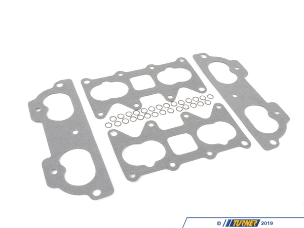 T#4197 - TEN3060TBG - E30 M3 Throttle-Body Gasket Repair Kit - This kit has been engineered to address the intake air leaks commonly found on the E30 M3 manifold gaskets. A problem that has plagued E30 M3 owners for years.   Parts list for kit: 2 Intake gaskets for cylinder head side, 2 intake gaskets for throttle-body side, and 28 Lock washers. - Turner Motorsport - BMW