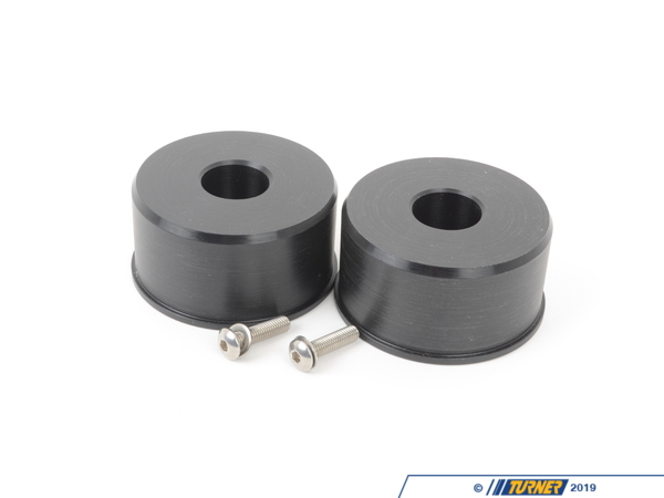T#1458 - TSU3080202 - Front Control Arm Bushings (FCAB) - Centered Delrin Race - E30, E36, Z3 (Pair) - Turner Motorsport -