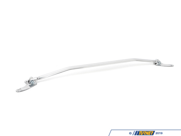 "T#12255 - 067023 -  Turner Front Strut Brace - Z3 2.5/2.8/3.0/3.2/Z3M - Improve the handling and steering response of your BMW today with a Turner Motorsport strut brace. Turner Motorsport developed these in association with our European partners to provide a higher quality and better performing strut brace than our competitors.  Made of aircraft grade aluminum these strut braces - also know as a ""stressbar"" -  help to minimize chassis flex during the hardest cornering, which keeps your tires squarely on the road and delivers the traction you need when you need it most.  Shock absorption is also increased, which reduces road forces and body roll and lends a firmer road-feel.  Strut braces provide benefits for both street driven and track driven BMW's.This item fits the following BMWs:1997-2002  Z3 BMW Z3 2.3 Z3 2.5i Z3 2.8 Z3 3.0i M Roadster M Coupe - Turner Motorsport - BMW"