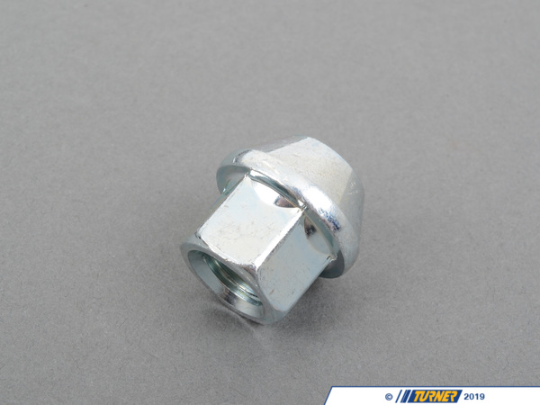 Turner Motorsport 17mm 12x1.5 Silver Zinc-Coated Wheel Nut - Single L30038