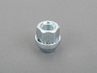 19mm 12x1.5 Turner Silver Zinc-Coated Wheel Nut