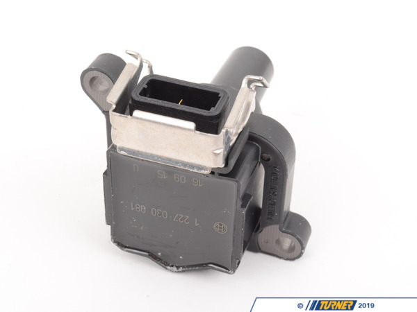 T#2905 - 12131748018 - Ignition Coil - most 1996-2002 E36 E46 E39 E38 X5 Z3 Z8 - Bosch -