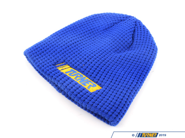T#211215 - TMSKNIT - Turner Motorsport Knit Winter Hat - Blue - (NO LONGER AVAILABLE) - Turner Motorsport - BMW MINI