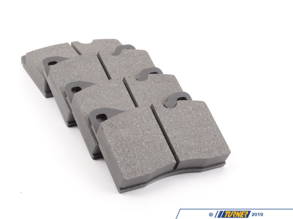 T#25214 - 34112226009 - OEM ATE Front Brake Pads - E28 M5, E24 M6 - Original ATE brake pads surpass the quality and safety standards of the European ECE-R90 directive. Their semi-metallic friction material helps to provide maximum braking performance right from the start in every driving situation. They also feature anti-noise shims for low braking noise in accordance with O.E. standards.This item fits the following BMWs:1980-1981  E12 BMW 528i1988  E28 BMW M51987-1989  E24 BMW M61981-1987  E23 BMW 733i 735i - ATE - BMW