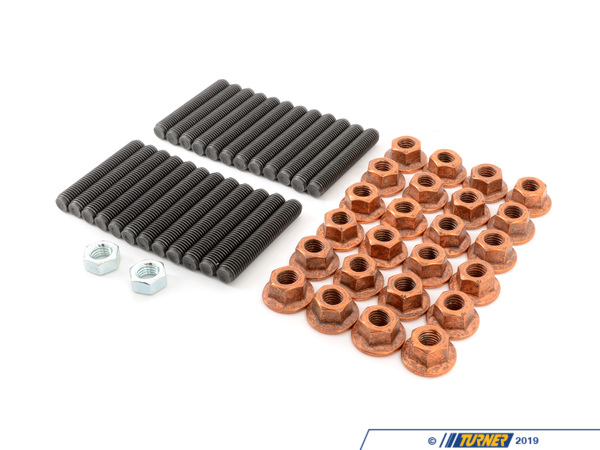 M50/M52/S50/S52 6 Cylinder Head To Exhaust Manifold Stud & Nut Kit