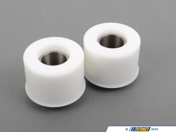 Turner Motorsport Front Control Arm Bushings (FCAB) - Delrin Solid Race - E46 M3 (Pair) 31122229623D