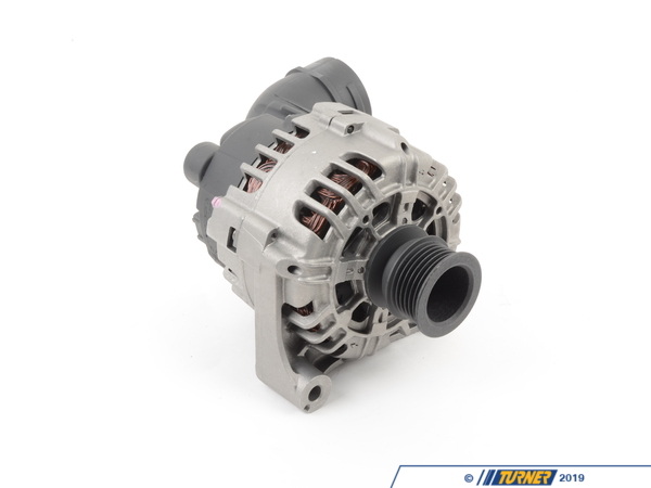 T#5774 - AL0814X - Bosch Alternator - 150 Amp - E46, E60, X3 - This is a NEW - not rebuilt - alternator. 120 amp Bosch alternator for many BMW 6 cylinders (see list below). Bosch is an original equipment supplier to BMW, and is the finest and most recognized German brand of alternator available. Buy only the best alternator for your BMW -- buy a Bosch alternator. Same as BMW part#12317519723 / 12317541696 /12317546285.Bosch is one of the largest OEM producers of Genuine BMW and aftermarket parts in the world, providing parts for almost every major automotive manufacturer. Bosch has likely supplied many of the original electrical (and mechanical) parts for your BMW. Thanks to their exacting assembly process and high level of durability you can expect a long service life from all Bosch products.This item fits the following BMWs:2003-2005  E46 BMW 325i 325ci - only for cars with M56 engine br>2004-2005  E60 BMW 525i 530i2004-2006  E83 BMW X3 2.5i X3 3.0i - Bosch - BMW