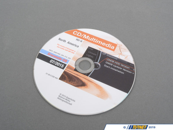 T#27056 - 01690039444 - Genuine BMW Dvd Gracenote For North Amer - 01690039444 - Genuine BMW -