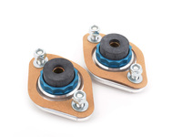 Rear Shock Mounts (RSM) - HP Aluminum/Rubber - E30, E36, E46, Z3, Z4 (Pair)