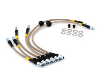 E9X M3 Stoptech Stainless Steel Brake Lines (2008+ E90/E92 M3)