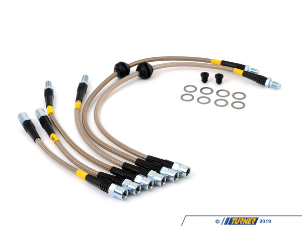 StopTech Stoptech Stainless Steel Brake Lines (Full Kit) - E90/E92 M3 2008+ PLBE9XM3
