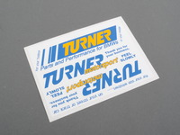 Turner Motorsport Window Sticker Sheet