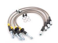 E46 Stainless Steel Brake Line Set - DOT Approved