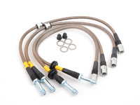 E46 325xi/330xi Stainless Steel Brake Line Set - DOT Approved