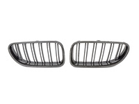 Carbon Fiber Double Slat Center Grills - F12/F13/F06 640i, 650i, M6