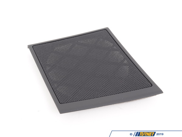 T#96650 - 51417076746 - Genuine BMW Cover F Right Loudspeaker Schwarz - 51417076746,E60 M5 - Genuine BMW -