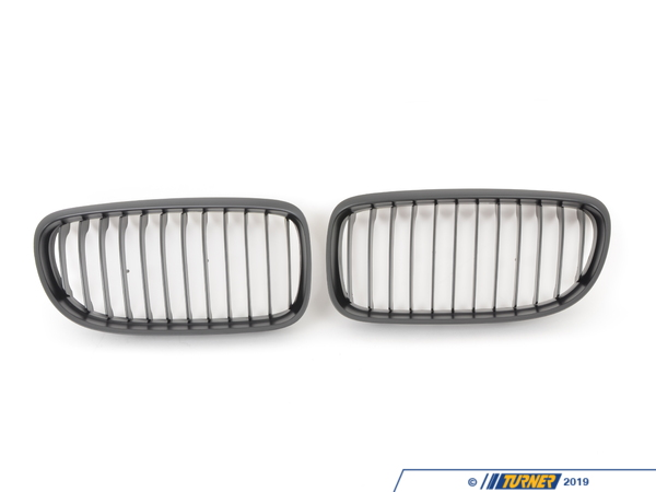 ECS Black Center Grills - E90 328i/xi 335i/xi 4-door 2009+ (with Facelift) BM-0220