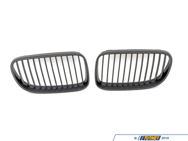T#3237 - BM-0240 - Black Center Grills - E92 E93 03/2010+ (except M3) - Turner Motorsport - BMW