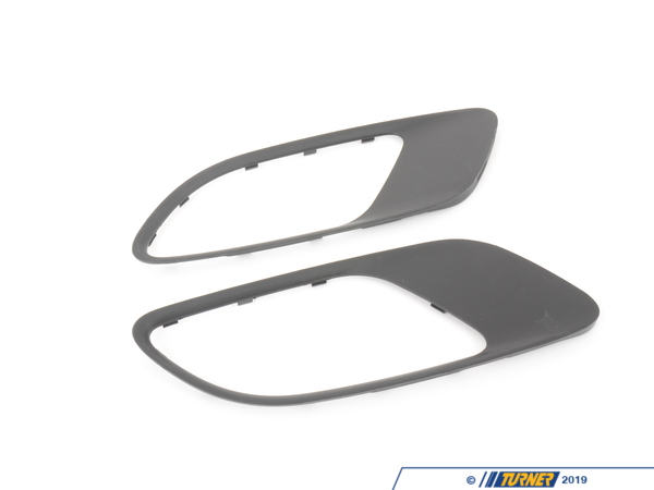 T#5653 - BM-0238-MATTE - Hood Vent Trim Kit - Matte Black - E90 E92 M3 - These direct replacement matte black hood vents give you the stealth look of the M3 GTS. They feature perfect fit and beautiful finish, and give you a darker more aggressive look to your M3. Kit includes two blacked out hood vent trim panels with matte black finish.This item fits the following BMWs:2006+  E90 BMW M3 - Sedan2007+  E92 BMW M3 - Coupe2007+  E93 BMW M3 - Convertible - AUTOTECKNIC - BMW