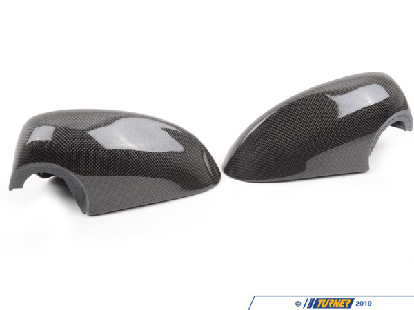 T#5359 - BM-0150 - Carbon Fiber Mirror Covers - E92 E93 2007-2009 - Turner Motorsport - BMW
