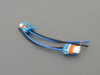 T#176988 - LS6495 - 9006/HB4 Wiring Connector (Used for Replica Spoilers) - Turner Motorsport -