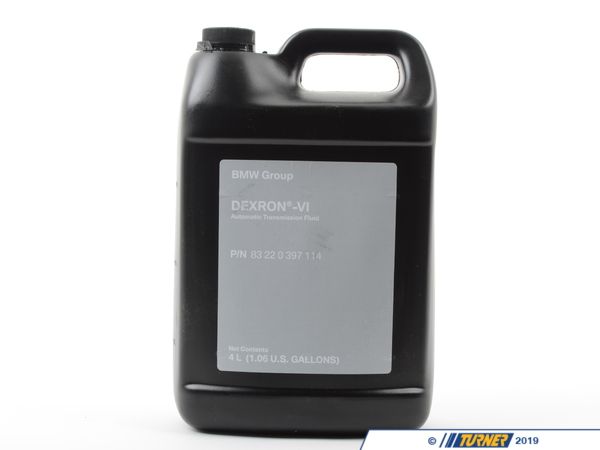 Genuine BMW Automatic Transmission Fluid - ETL-8072B - 4 Liter 83220397114