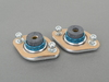 T#3666 - JTD909 - Rear Shock Mounts (RSM) - HP Aluminum/Rubber - E30, E36, E46, Z3, Z4 (Pair) - JT Design - BMW