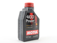 MOTUL 4100 Power 15W-50 Engine Oil - 1 liter bottle
