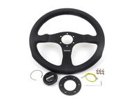 MOMO Competition Steering Wheel - Black - 350mm