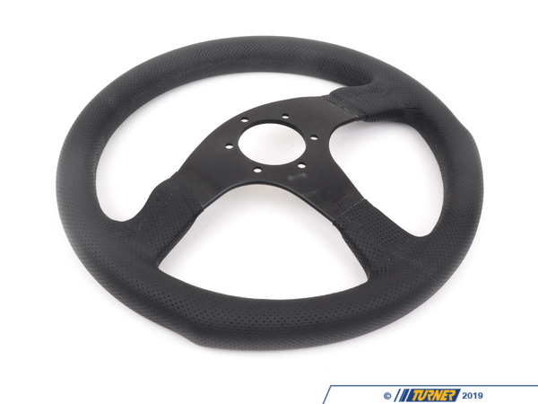 T#1898 - COM35BK0B - MOMO Competition Steering Wheel - Black - 350mm - MOMO - BMW MINI